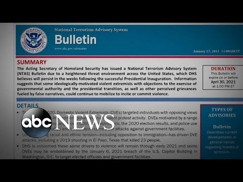 Homeland Security warns of urgent threat to elected officials, government facilities