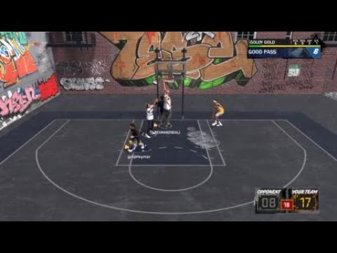 NBA 2K18 my first double alley oop