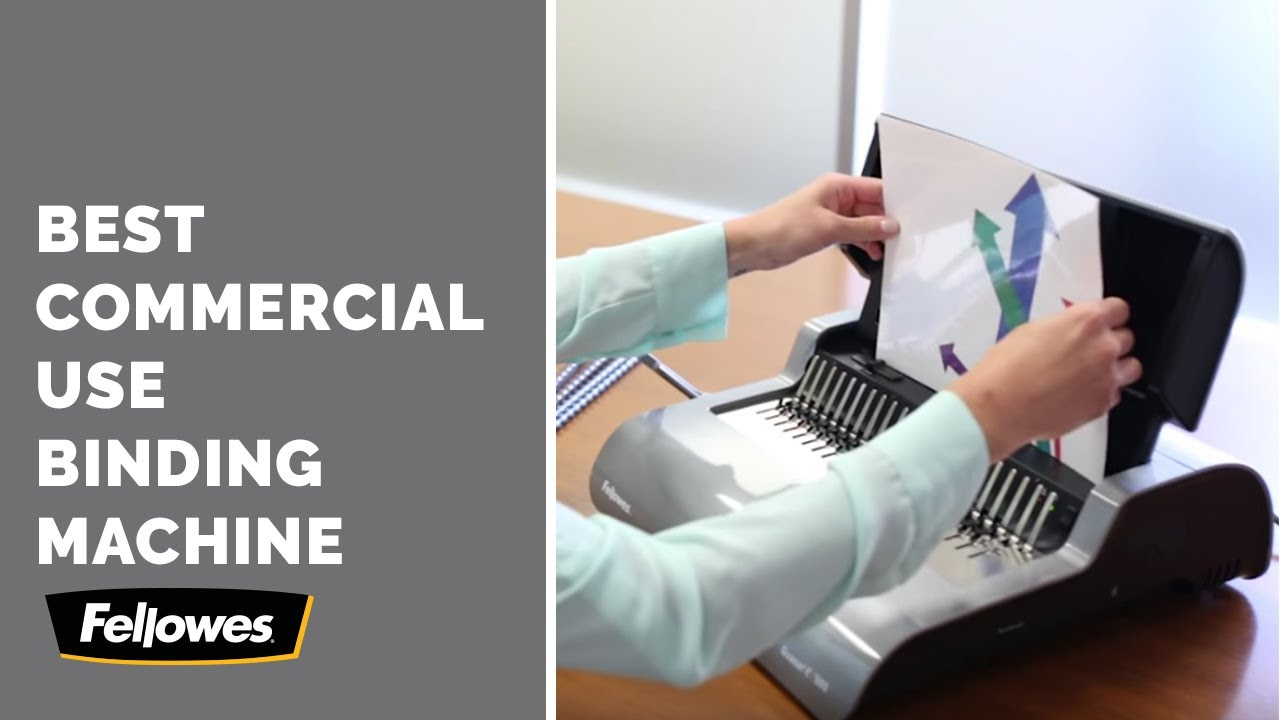 Selecting a Large Office Comb Binding Machine- Fellowes Quasar E