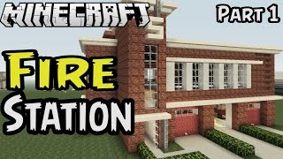 Lets Build Fire Station Part Minecraft