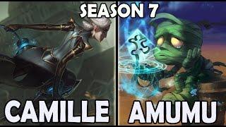 camille vs amumu jungle ranked korea soloq season 7