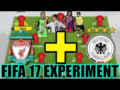 COULD GERMANY HELP LIVERPOOL WIN THE EPL? - FIFA 17 CAREER MODE EXPERIMENT