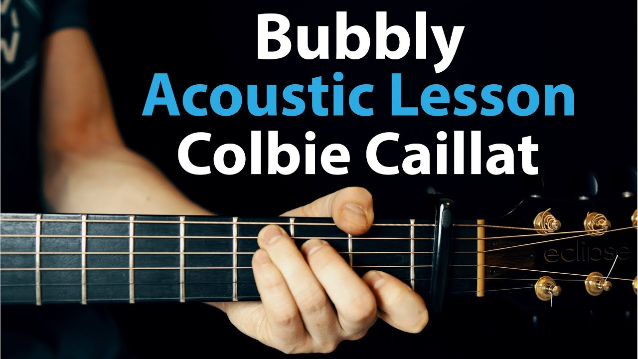 Bubbly Colbie Caillat Acoustic Guitar Lesson Youtube