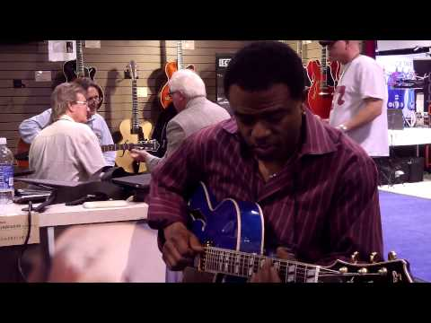 Send One Your Love - Norman Brown @ NAMM 2013 (Smooth Jazz Family)