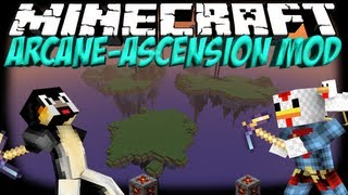 Floating Islands Mod: Minecraft Arcane Ascension Mod Showcase