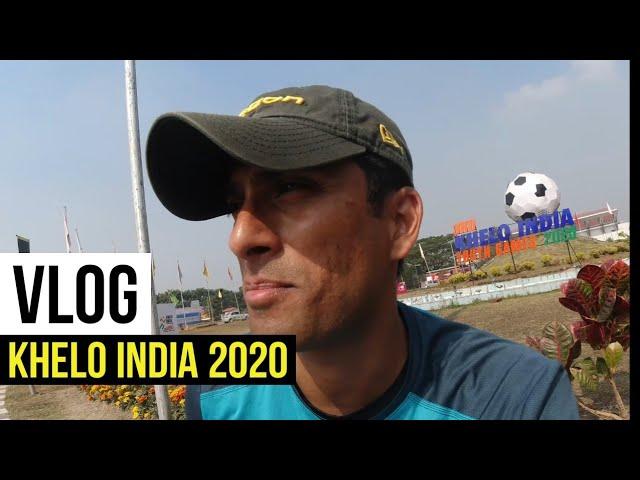 Khelo India🇮🇳 Games 2020 vlog | Coach karan vlogs #3