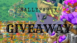 Lords Mobile - RALLYPARTY - We got SMASHED + GIVEAWAY