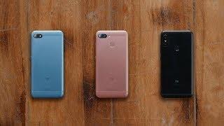 Огляд Xiaomi Redmi 6 Pro (а також 6 і 6A)