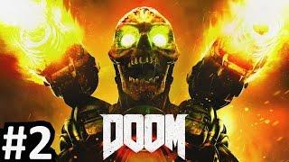 DOOM Campaign Gameplay Walkthrough #2 LIVE