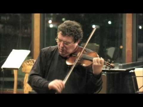 Bach's Prelude from Partita No. 3 in E Major for solo violin played by Mark Peskanov