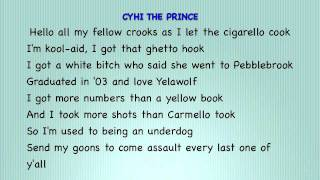 Yelawolf Ft CyHI The Prince And Pill I Wish (Remix)(Lyrics on screen)