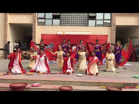 India's Folk Dance Competition DPS Kalinga Ganges House 2016Inter house Dance Competition