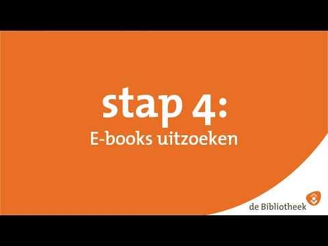 Stap 4 - E-book Uitzoeken (DigiBieb)