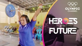 Buenos Aires 2018 the Target for Young Thai Weightlifting | Heroes of the Future