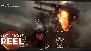 Highlight Reel #236 - Battlefield 1 Player Misses Shot, Then Doesn&#39t