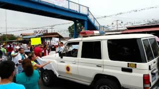 """Docentes de #SOCOPÓ a GNB """"queremos tu sueldo"""""""