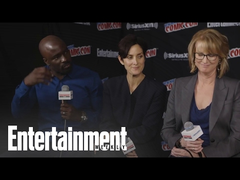 Jessica Jones: Krysten Ritter And CarrieAnne Moss On Jeryn Relationship  Entertainment Weekly