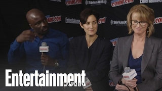 Jessica Jones: Krysten Ritter and Carrie-Anne Moss on Jeryn relationship