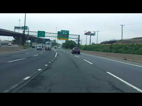 New Jersey Turnpike (Exits 16W, 15W, 15E, 14, 14A) south/eastbound