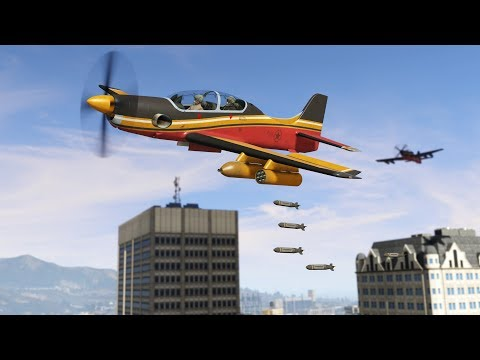 GTA ONLINE SMUGGLER'S RUN NEW DLC AIR FREIGHT MISSIONS