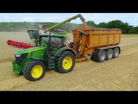 Harvest 2020 - Richard Western GRS25 Grain Chaser Bin