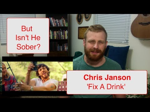 Chris Janson - Fix A Drink | Reaction