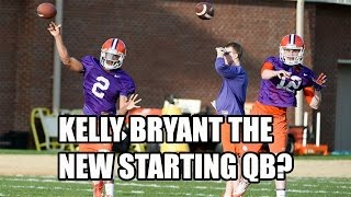 Kelly Bryant To Be Named The Starting Quarterback For Clemson