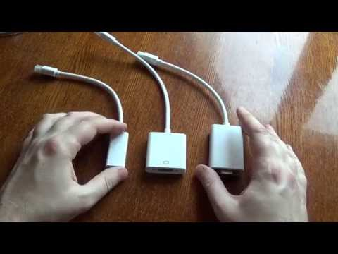 Обзор адаптеров с Mini DisplayPort'а на VGA и на HDMI