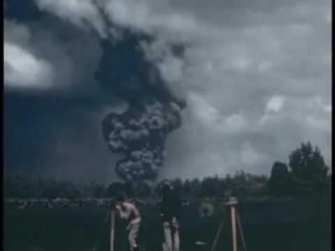 Volcán Paricutín, Michoacán México. En su 74 Aniversario Imàgenes Reales al momento de la erupción
