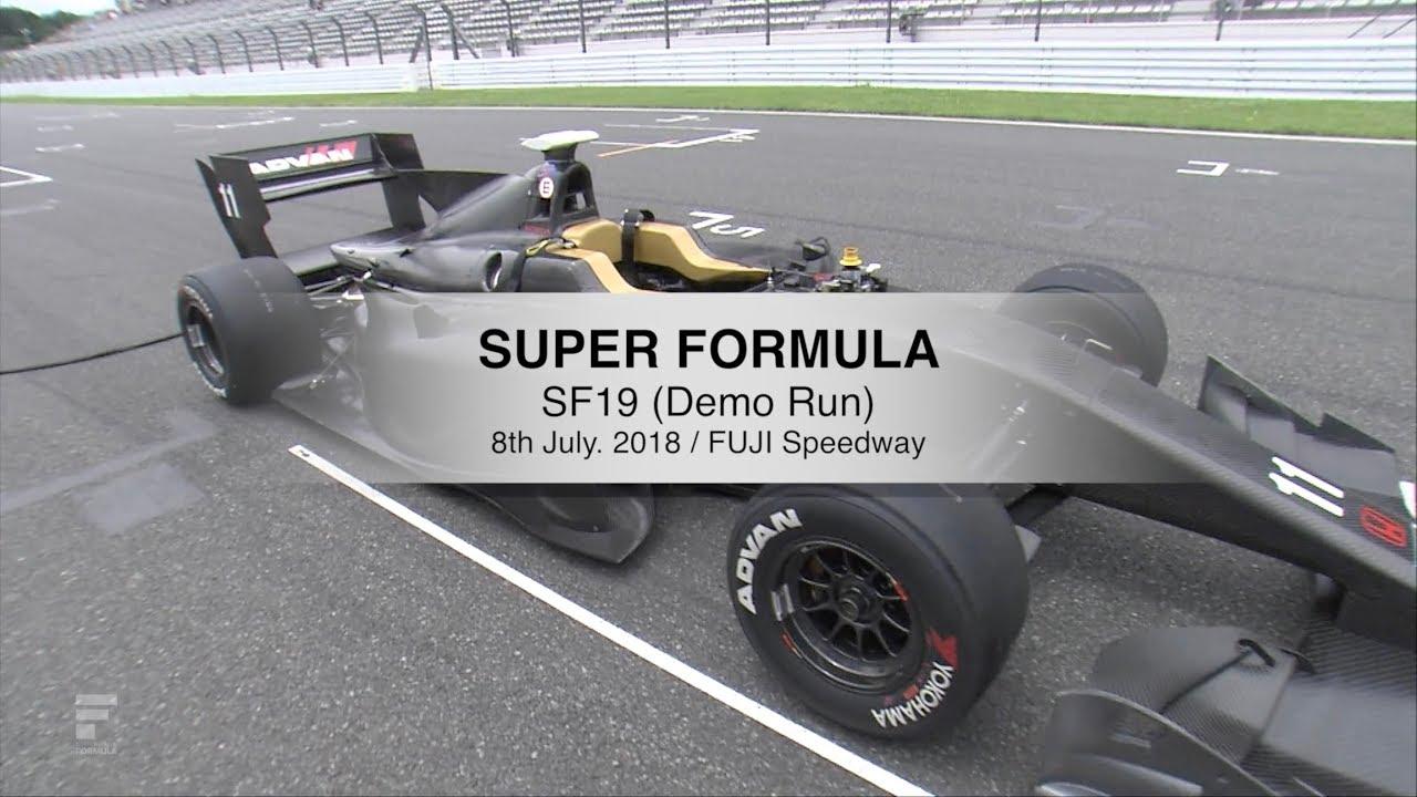super formula sf19 demo run youtube
