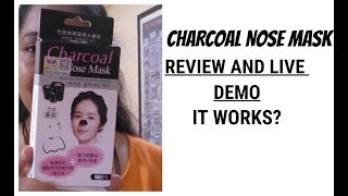 charcoal nose mask review|charcoal nose strips india|korean blackhead nose strips|makeup secrets
