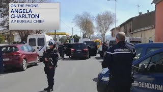 Gunman takes hostages in France