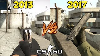 CS:GO 2013 VS 2017