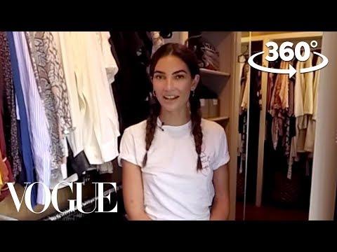 Lily Aldridge Takes You on a 360° Tour of Her Closet | Supermodel Closets | Vogue