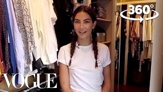 Lily Aldridge Takes You on a 360° Tour of Her Closet | Supermodel Closets | Vogue