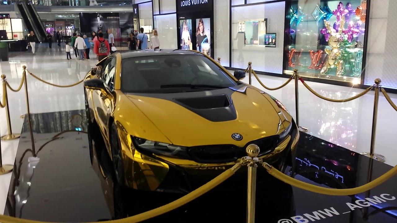 Dubai Bmw I8 Gold Youtube