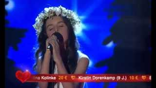 Angelina Jordan - Fly me to the Moon 2014