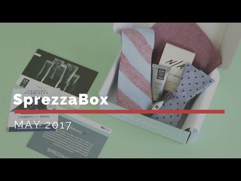 SprezzaBox Subscription Box Unboxing May 2017