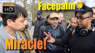 **Amazing** Facepalm Moment to Miracle End! Mansur Vs Atheist Boy | Old Is Gold | Speakers Corner