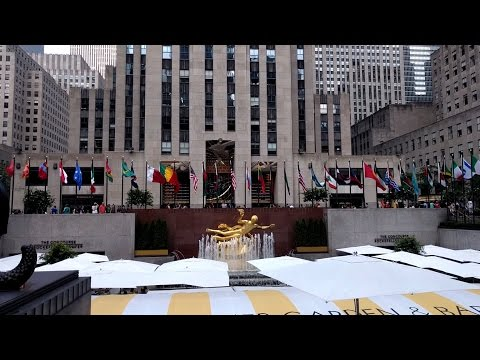 Rockefeller Center walking tour with Free Tours by Foot (New York City, USA)