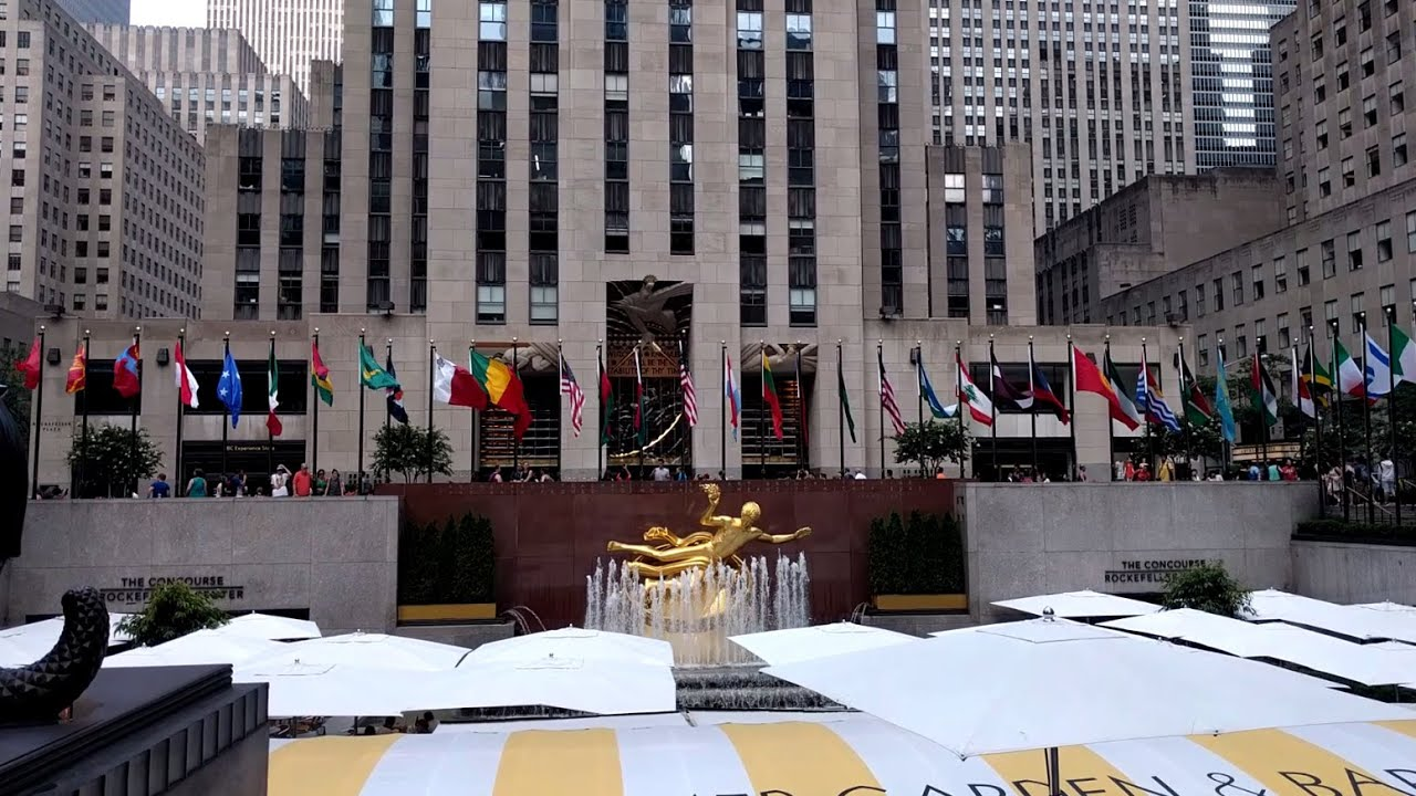 Rockefeller Center Tour