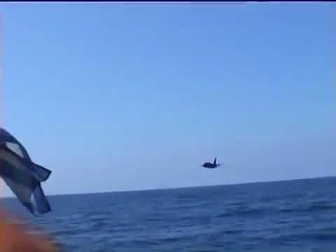 INSANE JET LOW PASS GREEK HAF TA 7H CORSAIR   VERY LOW FLIGHT !!!