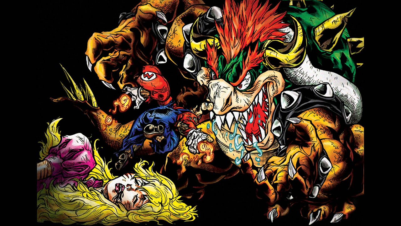 Super Metroid Hd Wallpaper Hauntershadow Mario Remix Dark Bowser Battle Youtube