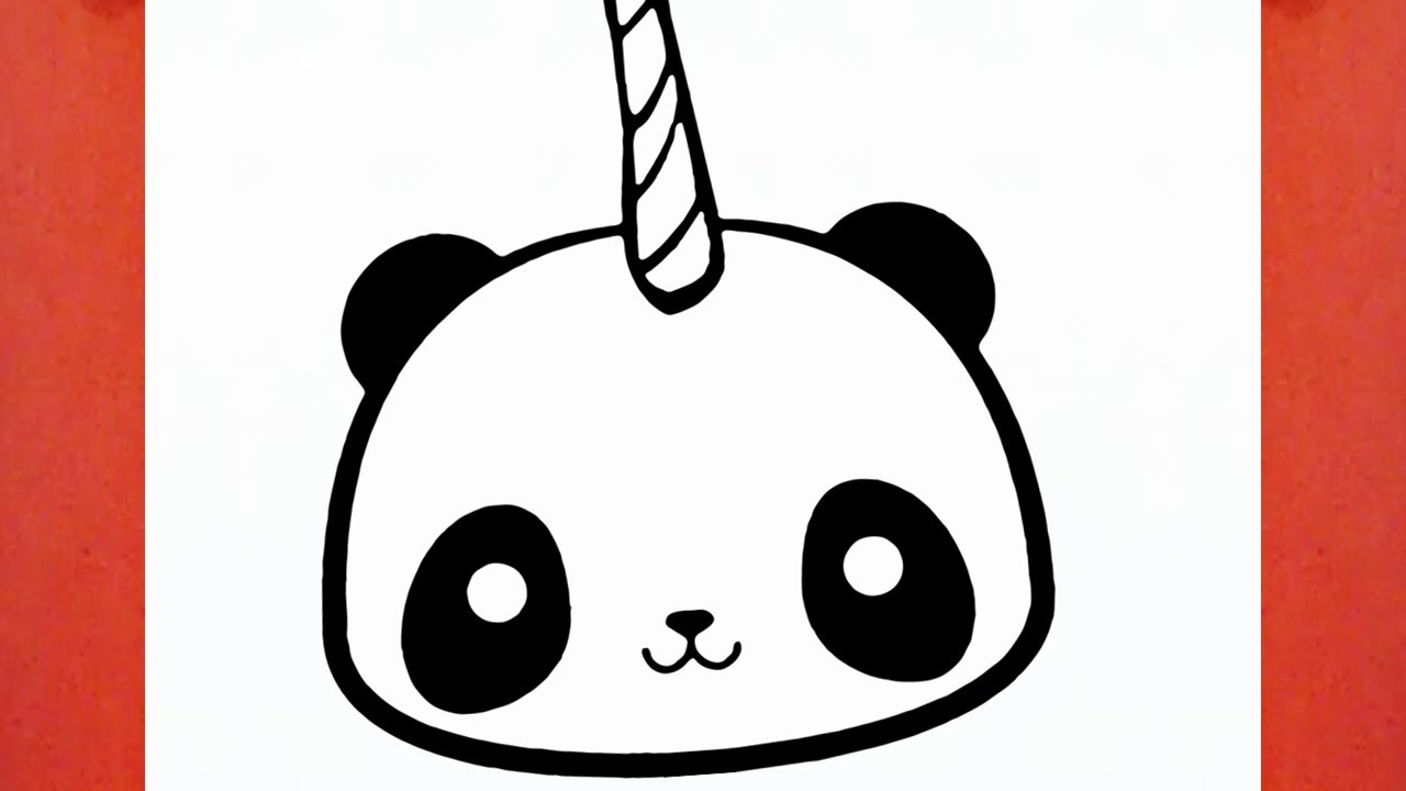 Come Disegnare Un Panda Kawaii 123vid