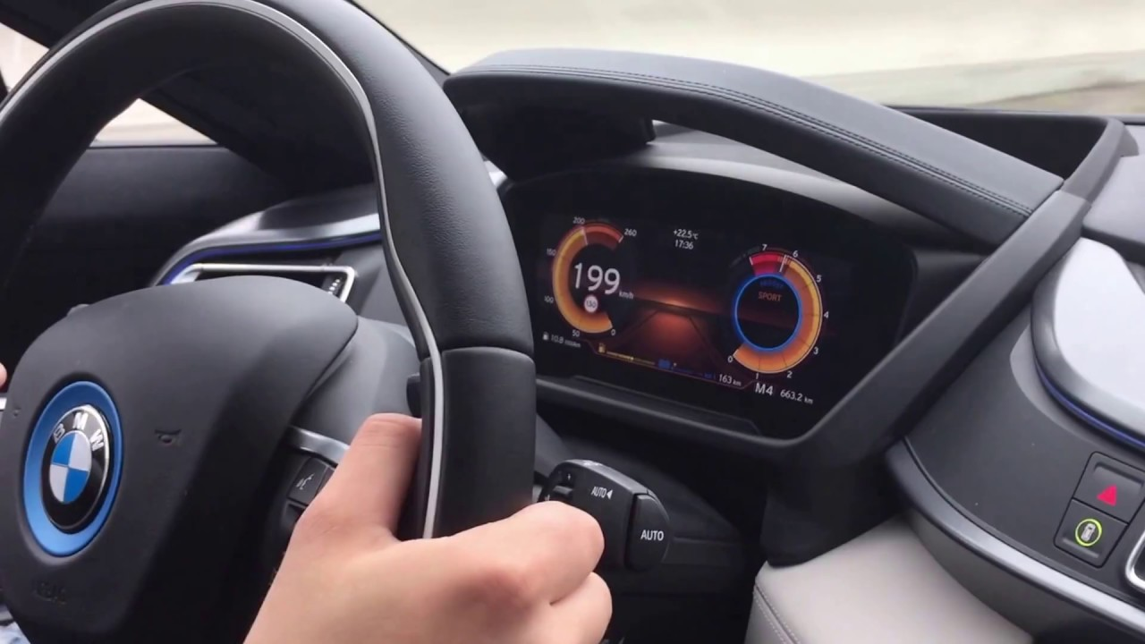 Bmw I8 Top Speed Acceleration 0 245 Km H Launch Control Sound Apex