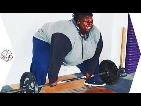 【筋トレ】180㎏の体重、諦めるという考えしたことない、Jumoke Hill