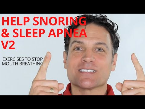 V2 Exercises for Snoring, Sleep Apnea and Singing. With tongue exercises, Nasal Breathing and More.