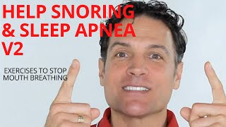 V2 Exercises for Snoring, Singing, Sleep Apnea and Singing.  With tongue exercises and more.