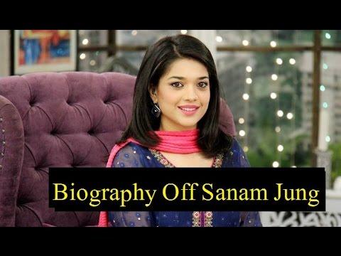 81fde18594 Complete Biography of Sanam Jung in Urdu - YouTube