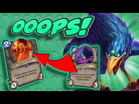 WHAT COULD POSSIBLY GO WRONG? - Tempo Mage - Standard Constructed - The Witchwood